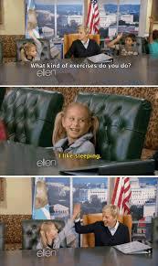 Ellen Degeneres Meme - i m gonna go do 10 reps of catnaps now hilarious meme and house