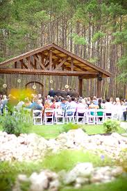 outdoor ceremony site wedding venue and reception