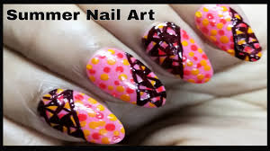 simple nail art designs 2017 beautuful summer nail designs
