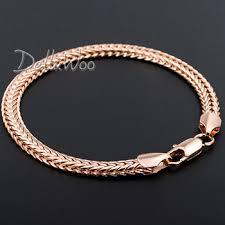 rose gold rope chain bracelet images Cheap 18k gold mens chain find 18k gold mens chain deals on line jpg