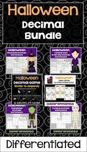 Halloween Multiplication Worksheets 3rd Grade by Best 25 Decimals Worksheets Ideas On Pinterest Math Fractions