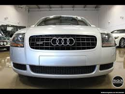 2004 audi tt 225hp quattro awd silver black 6 speed manual
