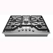 Modular Gas Cooktop Shop Maytag 5 Burner Gas Cooktop Stainless Steel Common 36 In
