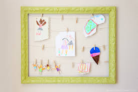 artwork display frame make it and love it