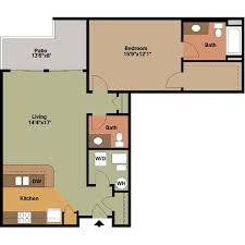 third ward one bedroom apartment floor plans jackson square