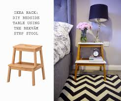 ikea hack bedside tables