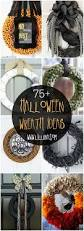 How To Make Halloween Wreaths by 75 Halloween Wreaths Lil U0027 Luna