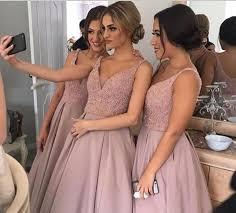 dusty wedding dress dusty bridesmaid dress bridesmaid dress a line