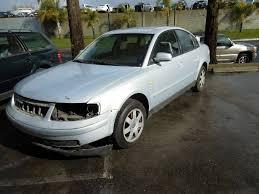 1999 volkswagen passat silver 2 8 automatic damaged side