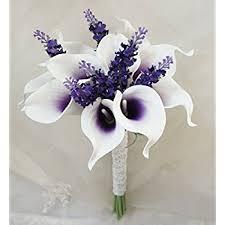Silk Calla Lilies Amazon Com Lily Garden Luxury Calla Lily Bridal Wedding Bouquet 3