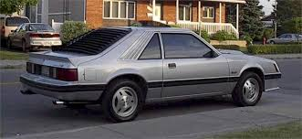 silver 1982 ford mustang gt hatchback mustangattitude com photo
