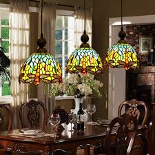 Stained Glass Light Fixtures Dining Room Captivating Stained Glass Dining Room Light Fixtures Photos Best