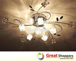 Lights And Chandeliers Crystal Chandelier Light Kit For Ceiling Fan Ceiling Fan With With