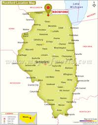 Rockford Illinois Map by Where Is Rockford Located In Illinois Usa