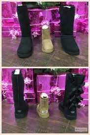 everyone went for ugg boots we are back shoe daca is re opened at the location we