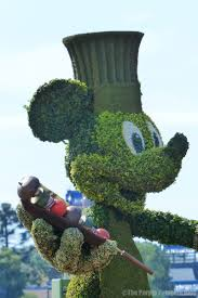 Mickey Mouse Topiary Day 4 U2013 Eat Around The World Part 2 Halloween In The