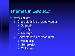 themes of beowulf poem beowulf ppt video online download