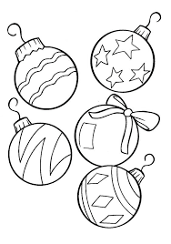 Free Merry Coloring Pages Printable Sheets Ornaments Vonsurroquen Me Merry Coloring Pages Printable