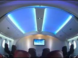Boeing 787 Dreamliner Interior Boeing 787 Dreamliner Amazing Interior Youtube