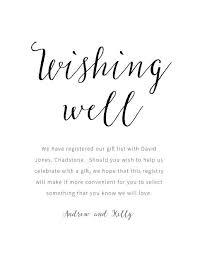 wedding gift registry nz wedding invitation wording wishing well inspirational rustic