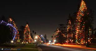 Hang Christmas Lights by Christmas Lights At St Albans Road In San Marino Southern
