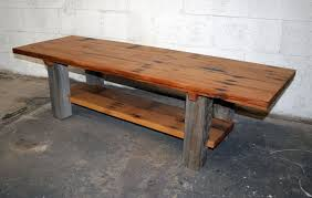 Distressed Wood End Table Furniture Barnwood Coffee Table For Inspiring Rustic Furniture