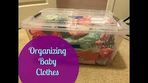 organizing everleigh u0027s baby clothes large family organization
