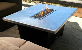 Rectangle Fire Pit - our fire pit table styles include rectangular square and round shapes