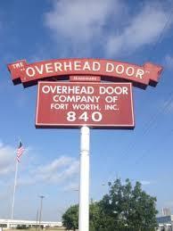 Overhead Door Fort Worth Overhead Door Company Of Fort Worth 840 Southway Cir Fort Worth
