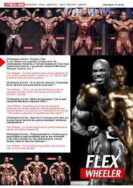 Qu Est Ce Que Le Corian Flex Wheeler Interview Forum Nutrimuscle Informations Sur La
