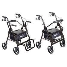 Drive Wheel Chair Drive Medical Duet Dual Function Transport Wheelchair Walker