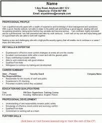 doorman resume doorman resume sample creative resume design
