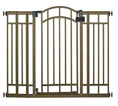Best Gate For Top Of Stairs With Banister Best Baby Gates Of 2017