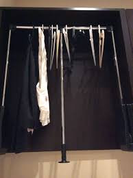 pull down clothes rod pull down closet rod systems u2013 indoor and