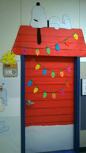 Christmas Crafts For Classroom - charlie brown christmas classroom door decoration love that