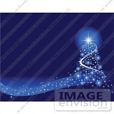 bright star lights christmas clip art illustration of a magical xmas tree of blue lights and a