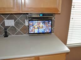 super ideas under cabinet tv for kitchen innovative kitchen