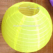 30cm yellow color round rice paper lamp shades lanterns for