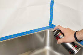 How To Paint A Kitchen Sink Hunker - Kitchen sink paint