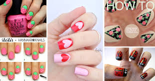 extraordinary design ideas easy cute nail designs at home simple
