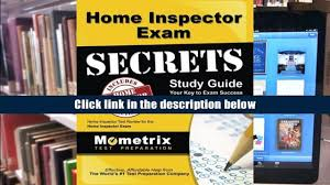 free download home inspector exam secrets study guide home