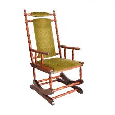 Wooden Rocking Chair Outdoor Scandinavian Wooden Rocking Chair 1950s For Sale At Pamono