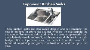 Kitchen Sinks Types by Types Of Kitchen Sinks