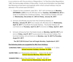 jamaica calendar terms u0026 holidays for academic year