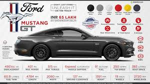 cost of ford mustang ford mustang price specs review pics mileage in india