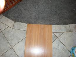 Fitting A Laminate Floor Tile Over Wood Floor Wood Flooring