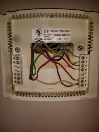 what does my thermostat wiring mean