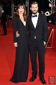 movie fifty shades of grey come out dakota johnson and jamie dornan at the fifty shades of grey berlin