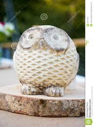 Owl Decor Wooden Owl Wedding Decor Stock Images Image 35321304