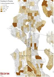 Seattle Map Downtown by Is Seattle Getting Richer Or Poorer Redfin